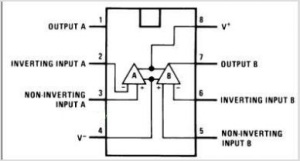 LM1558 Pin-out